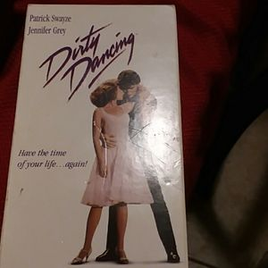 VCR Tape Dirty Dancing movie.
